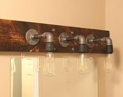 Rustic Industrial Bathroom by Bathroom Lighting Etsy