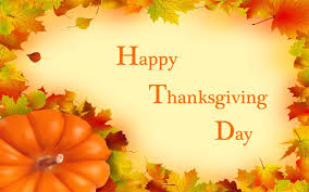 happy thanksgiving day autumn leaves picture