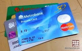 mastercard prepaid debit card i m glad to be back with metrobank nomnom club