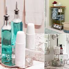 clever 10 minute bathroom storage hacks