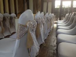 bows for chairs hessian sashes a table runners from chair covers for celebrations
