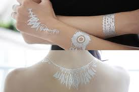 gold candy flash tattoos youbeauty