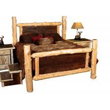 Wood Log Bed Frame Log Cabin Beds Rustic Bed Frames Rocky Top Furniture