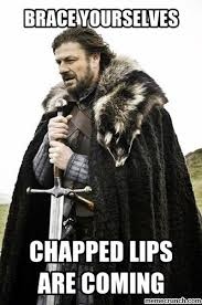 Chapped Lips Meme - lips