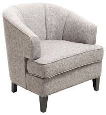 Beige Club Chair Camden Club Chair Gray Contemporary Armchairs And Accent