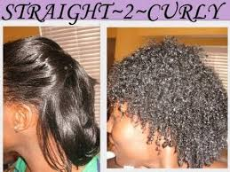permanent curls for black hair 18 months straight back 2 curly hair youtube