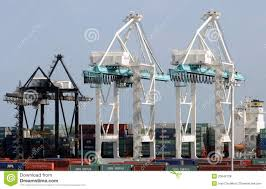 Port Of Miami Map by Port Machinery In The Port Of Miami Editorial Stock Photo Image