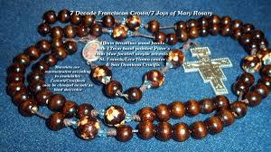 franciscan crown rosary franciscan crown 7 joys of rosary battlebeads