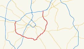 Zip Code Map Charlotte Nc by Charlotte Route 4 Wikipedia