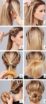 Einfache Frisuren F Lange Haare Mit Anleitung by Tolle 12 Schöne Einfache Frisuren Für Mittellange Haare Neuesten