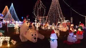christmas light show ct light display at amarante s winter wonderland in dayville ct youtube