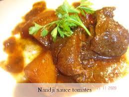 cuisines ivoiriennes nandji sauce tomates recette ivoirienne le coin repas