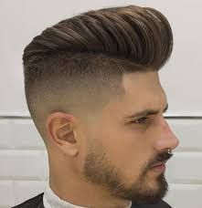 mens haircuts step by step mens hairstyles how to do a fade haircut step my cms for in the