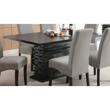 contemporary dining room set amazon com coaster home furnishings stanton modern contemporary