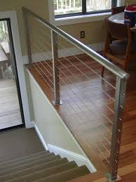 interior railings home depot cable railing systems with modern wire deck cable railing systems