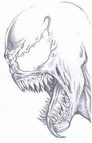 venom quick sketch by wesleyjames1985 on deviantart