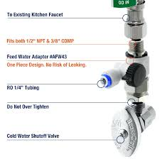 faucet adapter for water filter shopnsave 2 ways faucet adapter 2