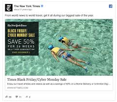 target delivery schedule for black friday and thanksgiving 55 facebook ads that get the holiday advertising right