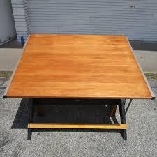 Mayline Ranger Drafting Table Mayline Oak Drafting Table Mayline Oak 4 Post Drafting Table