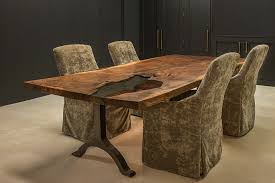 magnificent custom dining table from aspen design room