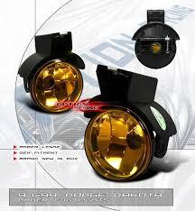dodge dakota fog light dodge dakota option racing fog light kit amber 28 17113