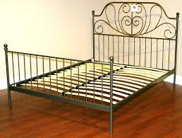 Wood And Wrought Iron Headboards Antique Wood Headboard And Footboard Home Design Ideas