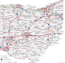 map usa ohio counties in ohio map map of ohio cities ohio road map with 750 x
