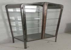 vintage glass cabinet home design