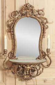 Antique Vanity With Mirror And Bench - vanity mirror tray target home vanity decoration