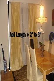 measurements of silk curtains how to measure for silk curtains