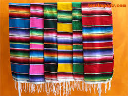 Mexican Table Runner Mexican Table Runner Serape Free Shipping