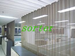 Metal Coil Drapery Curtains Ideas Metal Mesh Curtains Pictures Of Curtains