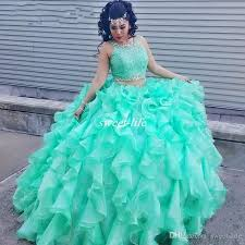 sweet fifteen dresses two lace turquoise quinceanera dresses with beaded