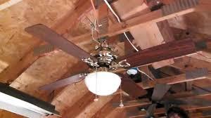 Roof Fan by Hunter Calais Ceiling Fan Sold At Walmart Youtube