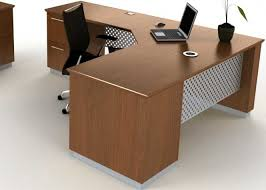 modern l shaped executive desk with metal u0026 wood officepope