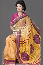 bangladeshi jamdani saree collection embroidery cutwork jamdani saree from zarif fashion bangladeshi
