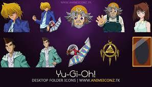 yu gi oh desktop folder icon animeiconz