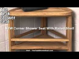 Teak Shower Bench Corner Teak Chair Teak Shower Bench Teak Corner Stool Youtube