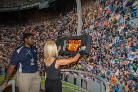 fil a fan experience cfbhof at t game time 360 virtual stadium tour sports techie