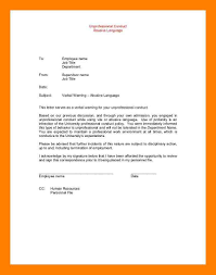 Termination Of Employment Letter To Employee by 12 Letter Of Warning To Employee Noc Certificate