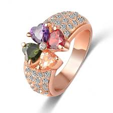 real crystal rings images Rings jewelry clothing shoes jewelry jpg