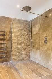 best stone wall tiles ideas pinterest shower makeover contemporary bathroom feature stone wall tiles texture rainmaker glass screen gulley