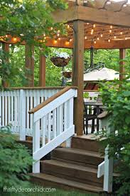 Decorating Pergolas Ideas Best 25 Pergola Lighting Ideas On Pinterest Outdoor Patio