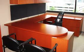 Commercial Office Furniture Desk Stunning Used Office Desks In Modern Home Interior Design Ideas