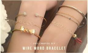wire jewelry bracelet images How to make custom jewelry diy projects craft ideas how to 39 s for jpg