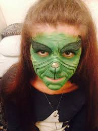 Baby Grinch Halloween Costume Practise Attempt Grinch Makeup Grinch Costumes