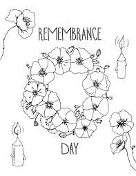 Printable Remembrance Day Coloring Page Free Pdf Download At Http Day Printable Coloring Pages