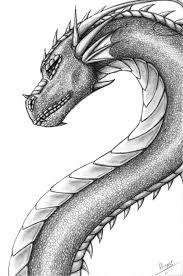 pencil dragon by h brid on deviantart