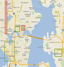 seattle map eastlake the insider s guide to seattle where to stay travel codex