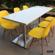 Quartz Table L Top Kitchen Table And White Quartz Top Dining